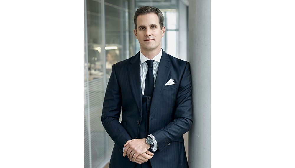 CEO of IWC, Christophe Grainger-Herr