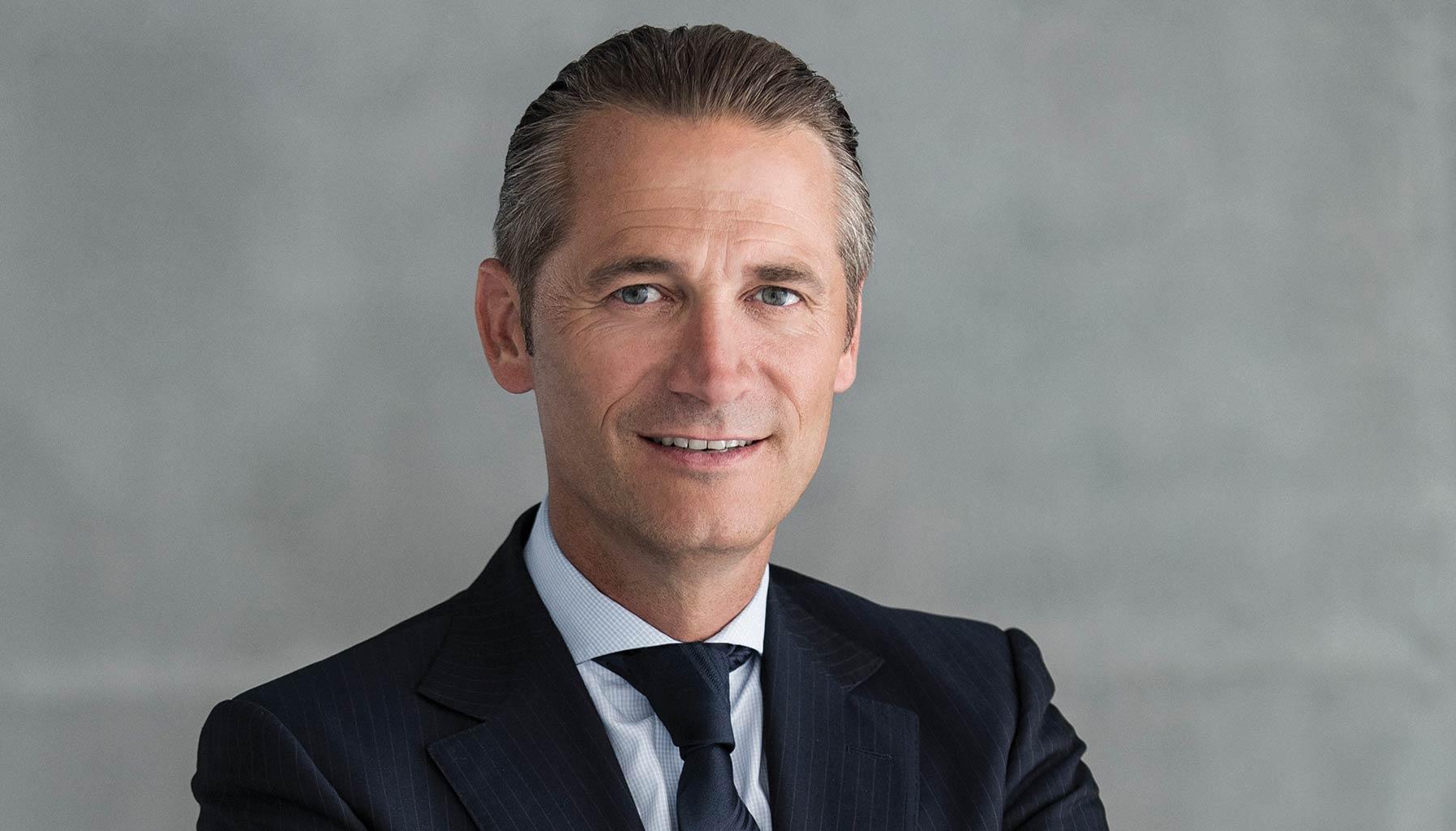Raynald Aeschlimann, CEO of Omega