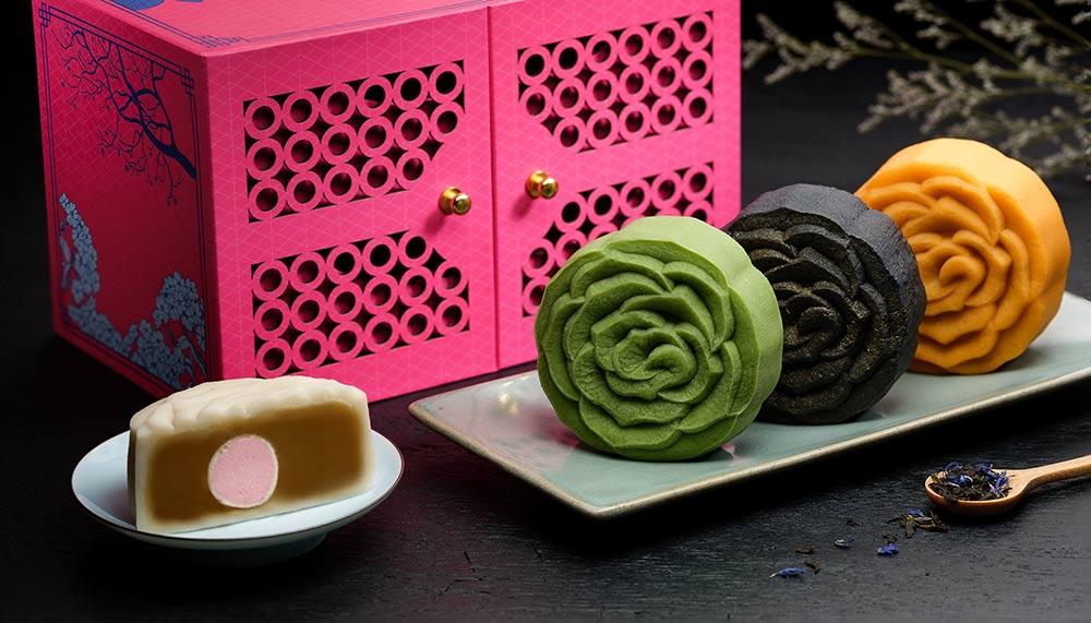 InterContinental Singapore Floral Mooncakes, Man Fu Yan