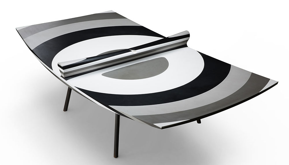 Rod Arad, 10 Layers ping pong table