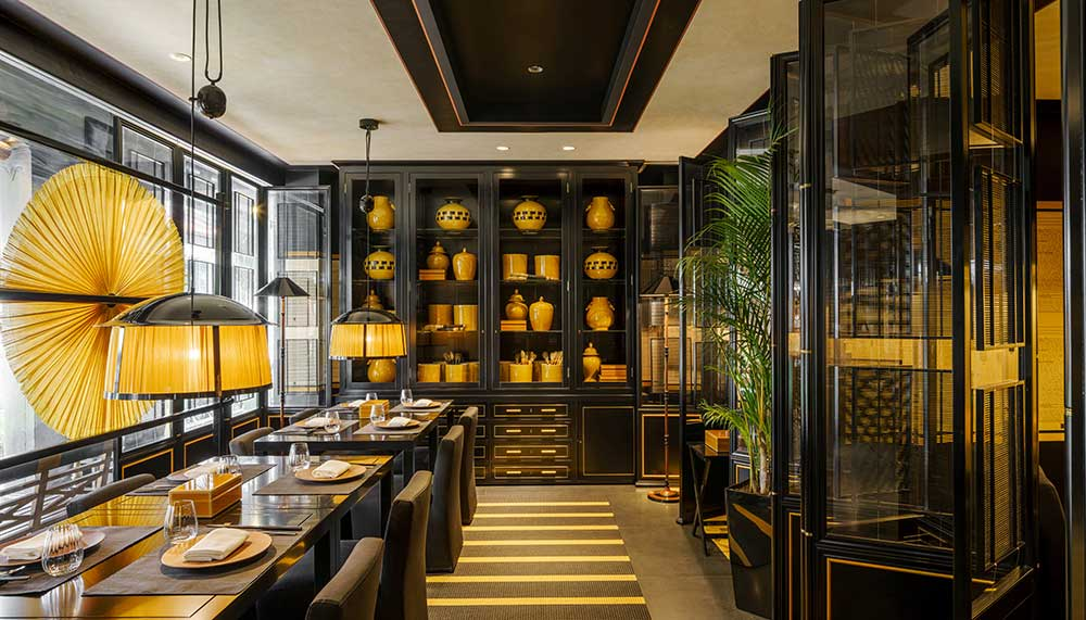 Six Senses Duxton, Yellow Pot restaurant