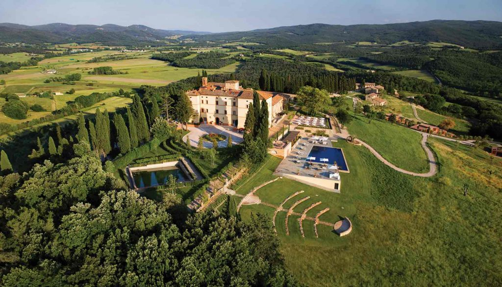 Belmond Castello di Casole, Vineyards in Italy