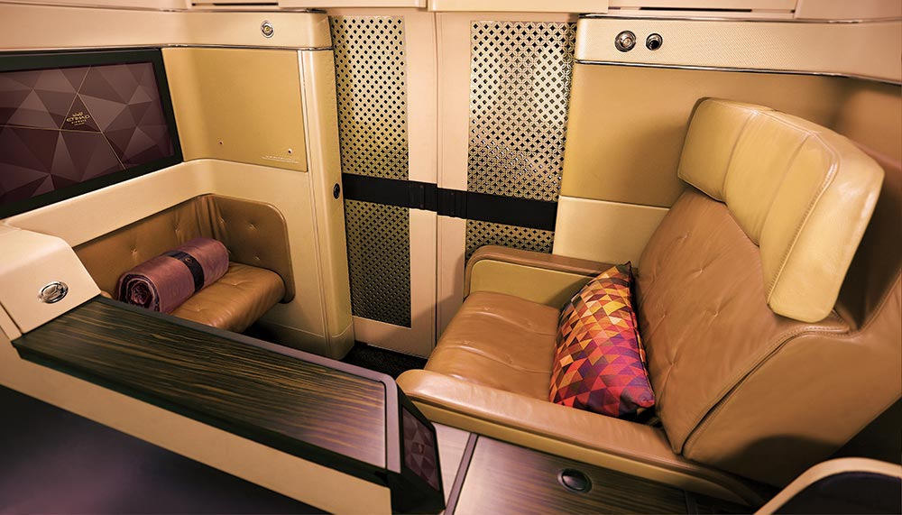 Etihad, The Residences, Etihad first class