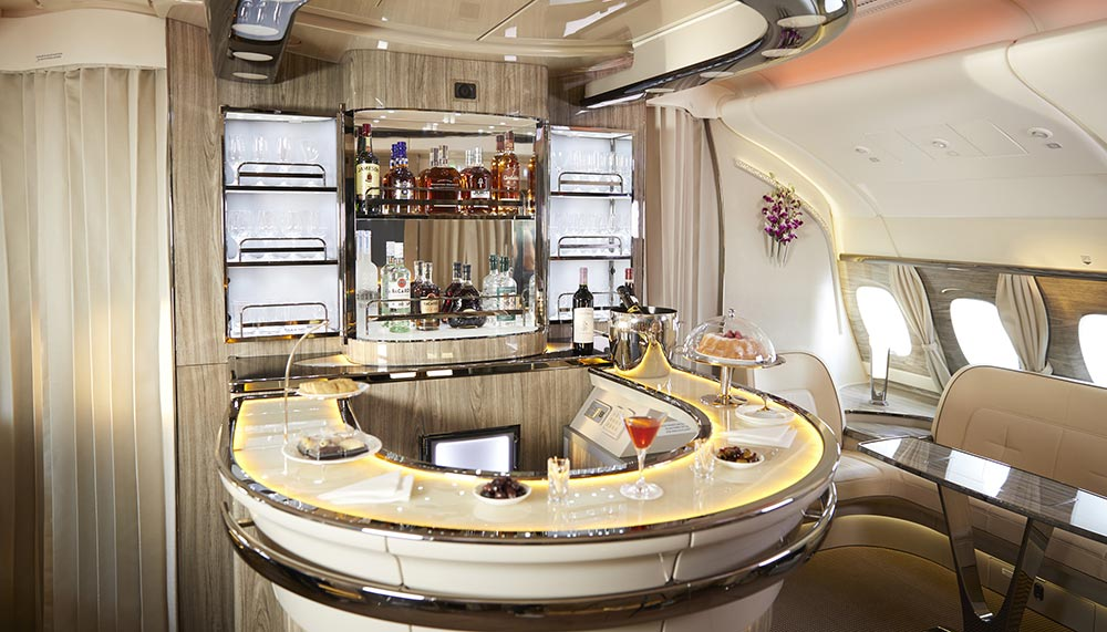 Emirates, 777 fleet, Emirates first class