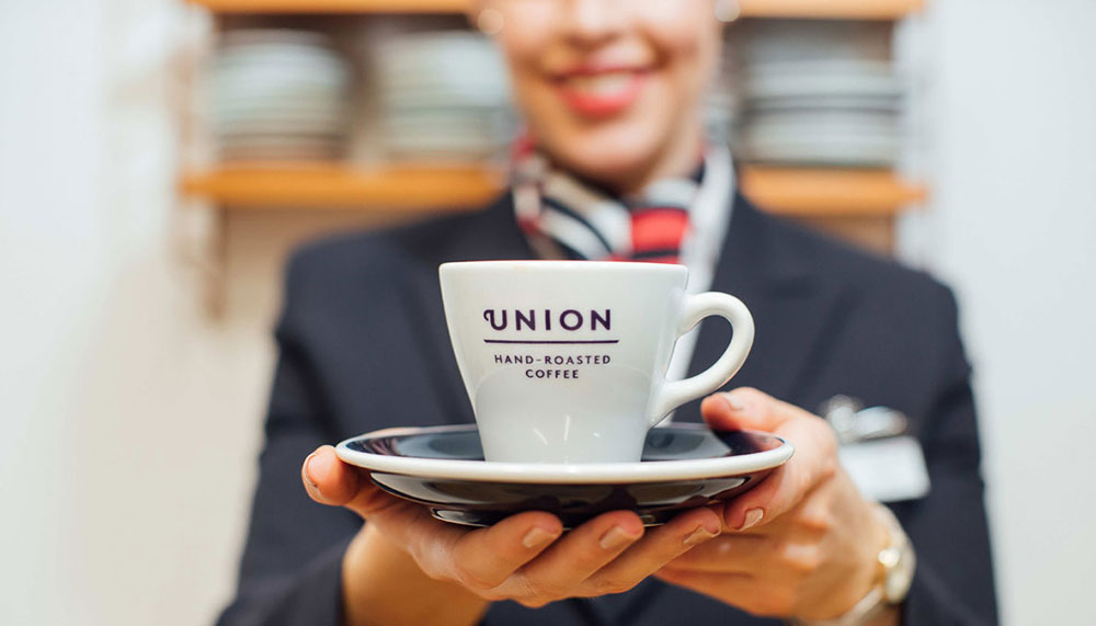 British Airways , Union Hand-Roasted Coffee
