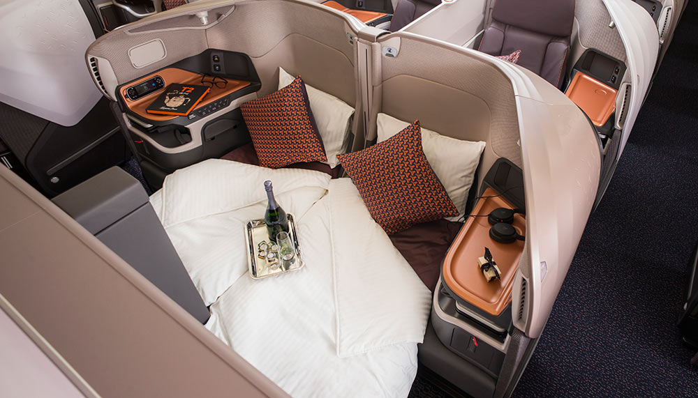 Singapore Airlines, A380 suites