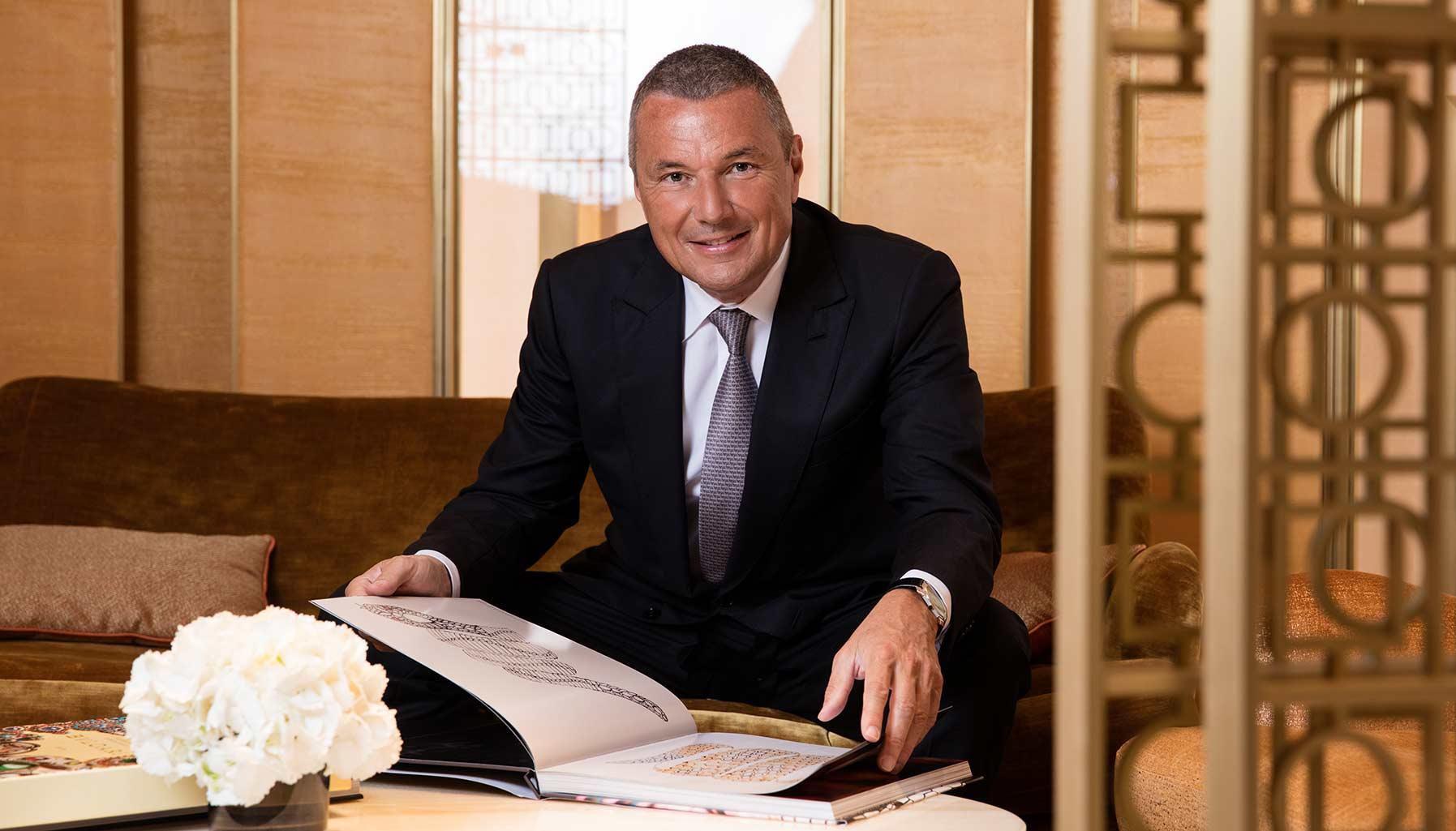 Jean-Christophe Babin, CEO of Bvlgari