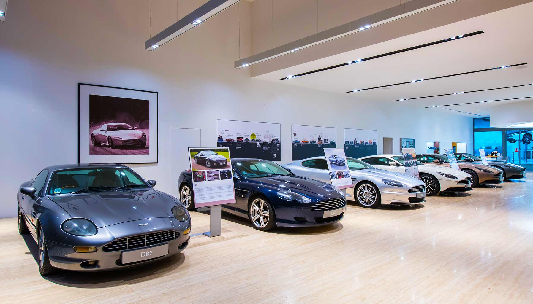Aston Martin Singapore Showroom, Aston Martin DB