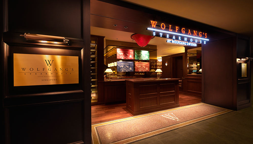 Wolfgang's Steakhouse, InterContinental Singapore Robertson Quay