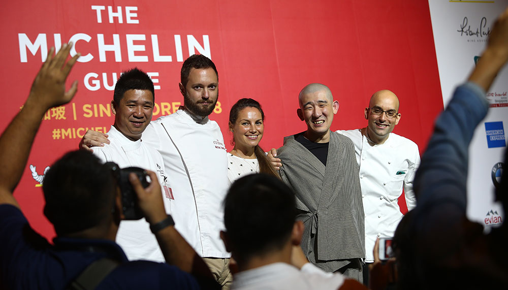 Michelin Guide Singapore 2018