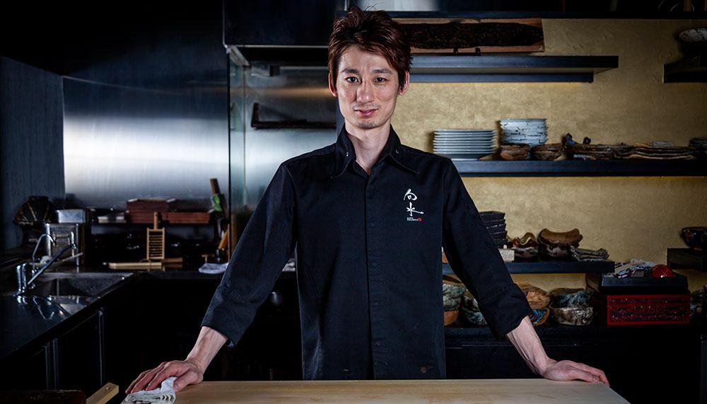 Kappo Shunsui at Cuppage Plaza, Chef Nishi Nobuhiro