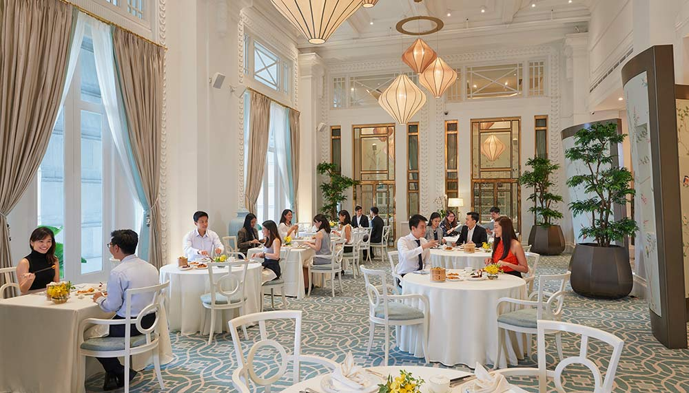 Fullerton Hotel Singapore, Jade restaurant
