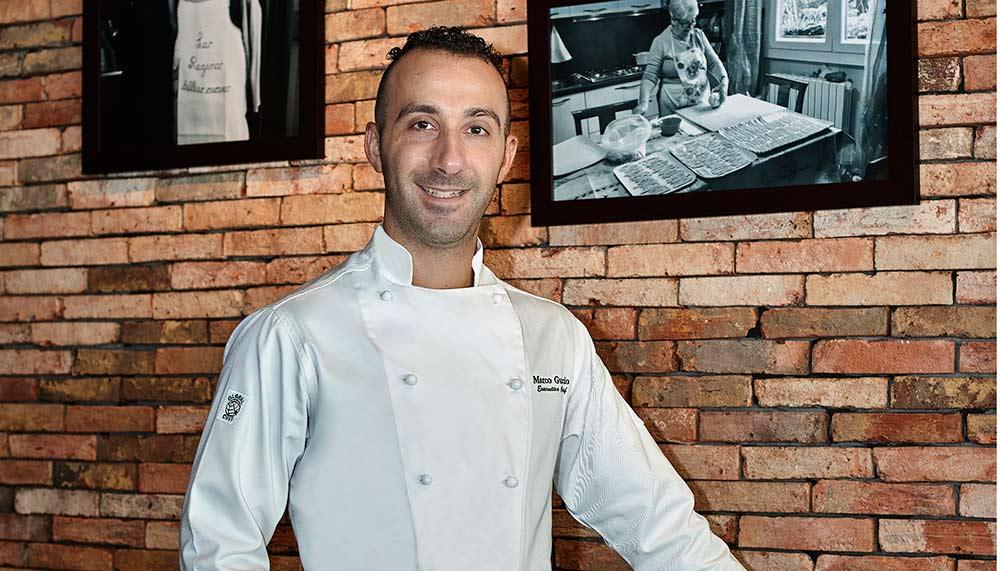 Guccio Ristorante, Chef Marco Guccio