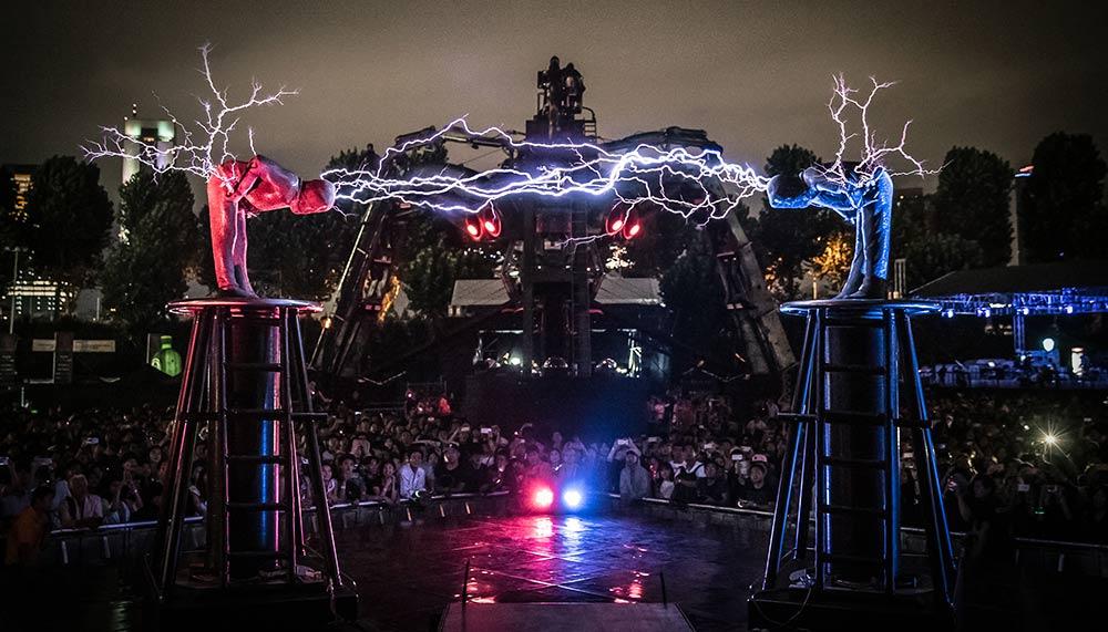 Singapore Night Festival 2018, Lords of Lightning