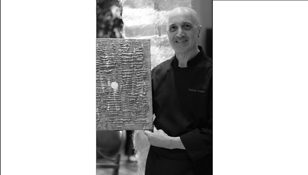 Gabriel Fratini, chef and owner of Domvs by Gabriel Fratini at Sheraton Towers Singapore