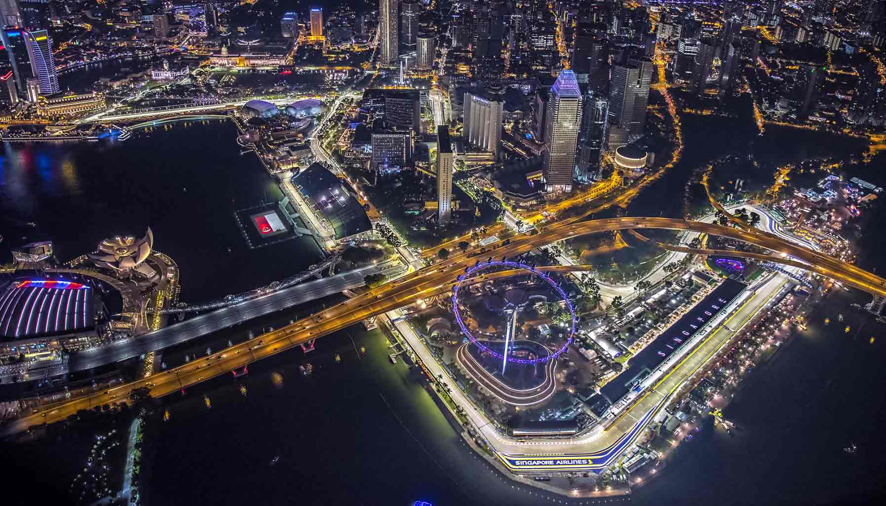 F1 in Singapore, The Ritz-Carlton