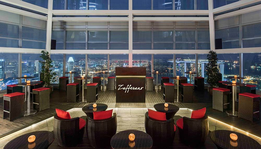 Restaurants in Singapore with a view - Zafferano