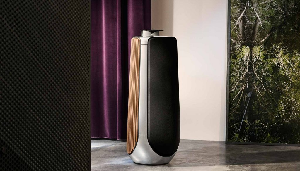 Man cave, Bang & Olufsen Beolab 50 speakers