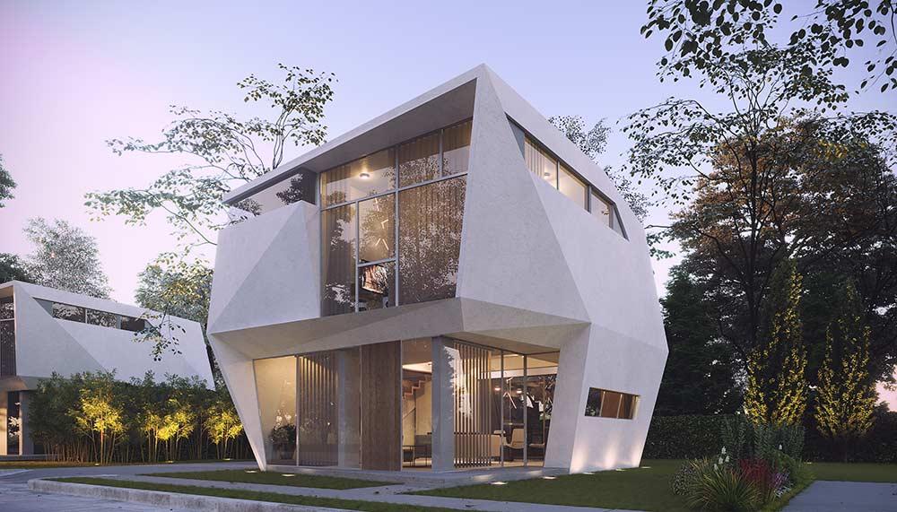 Revolution Precrafted, Ed Calma, Polygon house