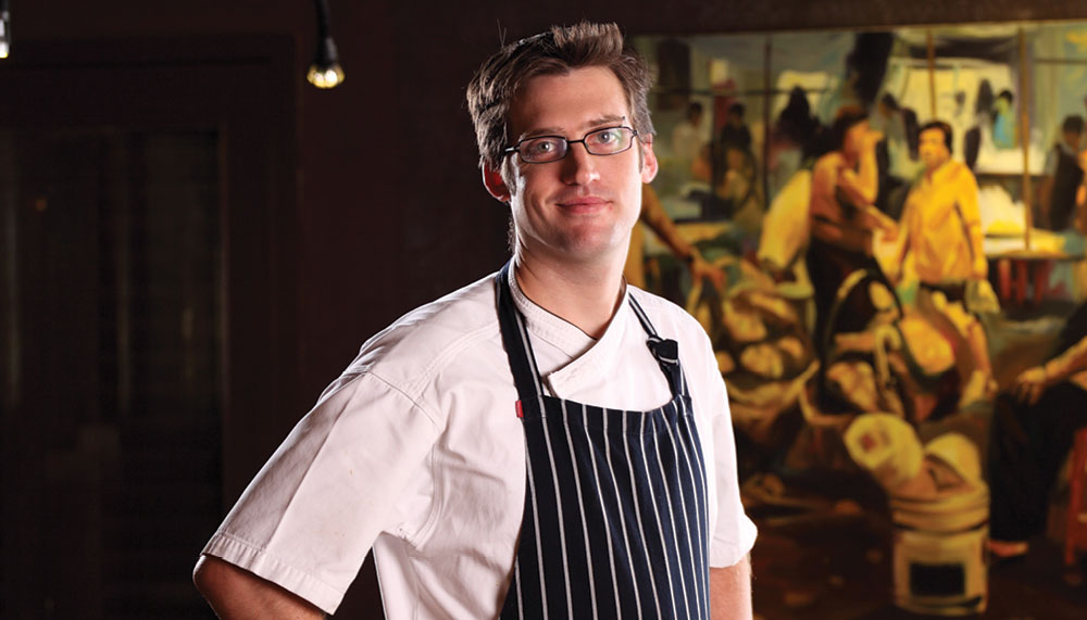 The Great Food Festival 2018, Dylan Jones of Michelin-starred Bo.lan