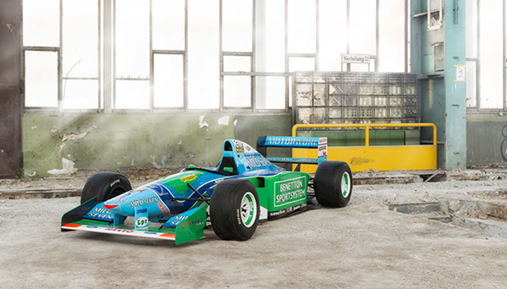Grand Basel 2018, Benetton-Ford B194