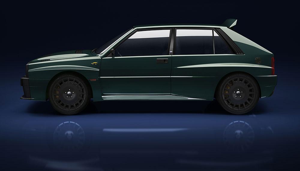 Grand Basel 2018, Lancia Delta Integrale Futurista