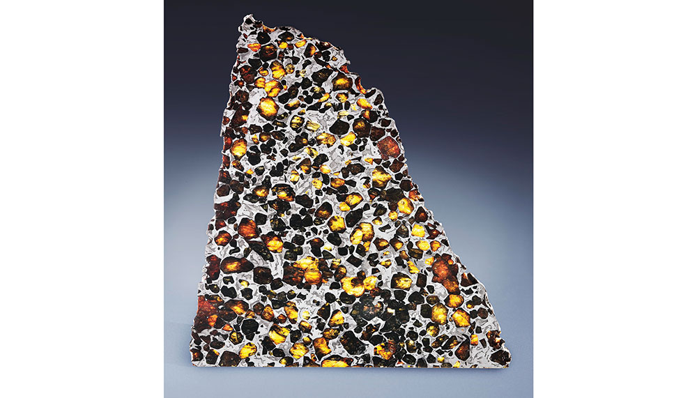 pallasite from Chubut, Argentina