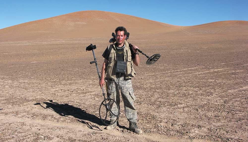 Meteorite hunter Geoffrey Notkin