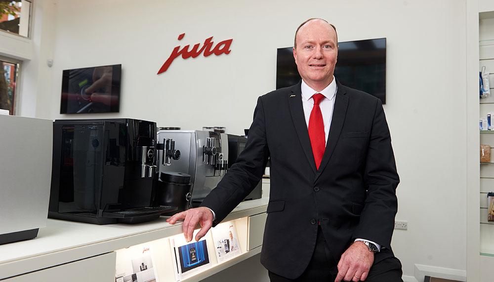 Coffee, Jura, Z8, David Stanborough, head of retail for Jura