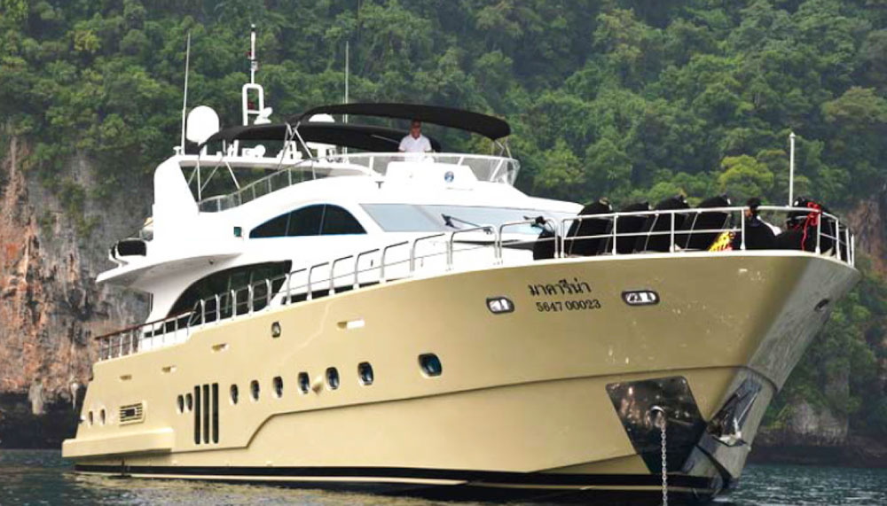 Private yacht charters in Southeast Asia, Mia Kai