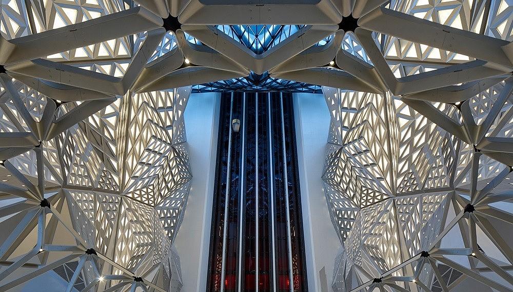 Morpheus hotel in Macau, by Zaha Hadid