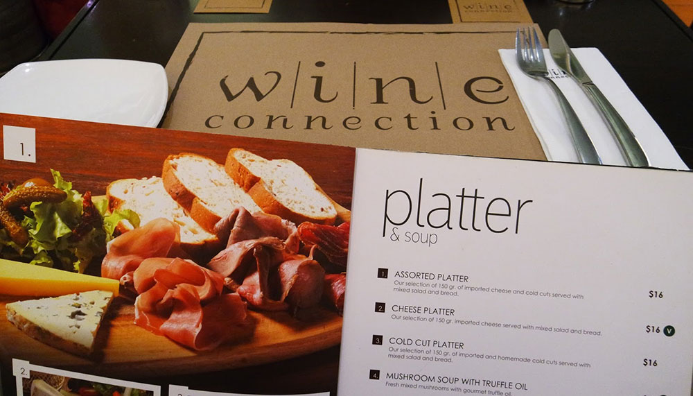 Where to buy cheese in Singapore - Wine Connection Cheese Bar