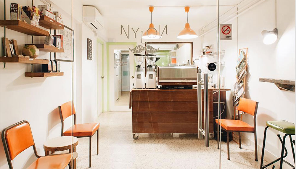 Nylon Coffee Roasters, best cafes in singapore