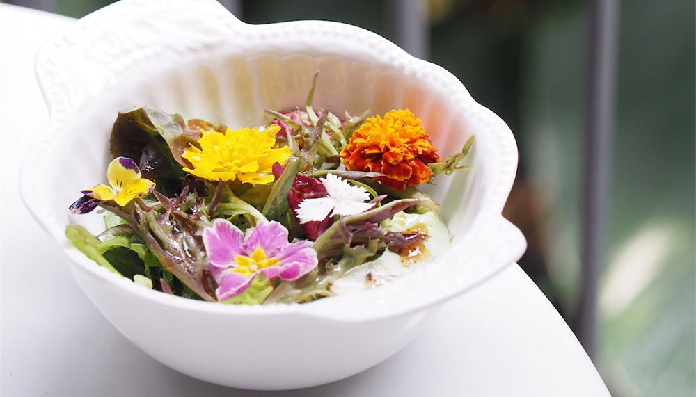 Edible herbs and flowers