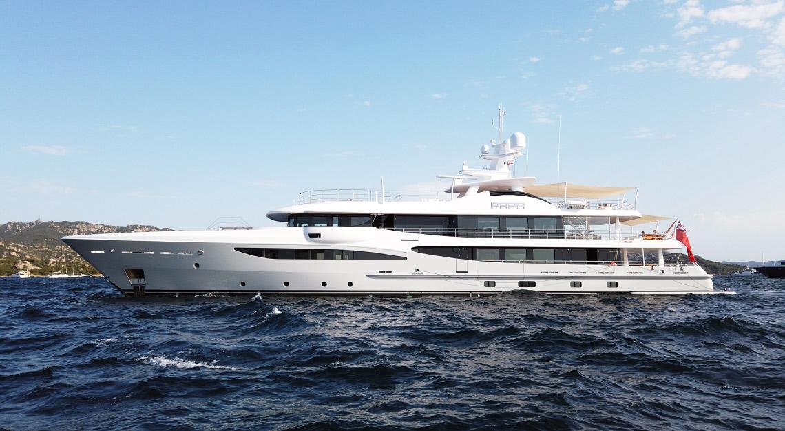 Amels Papa yacht
