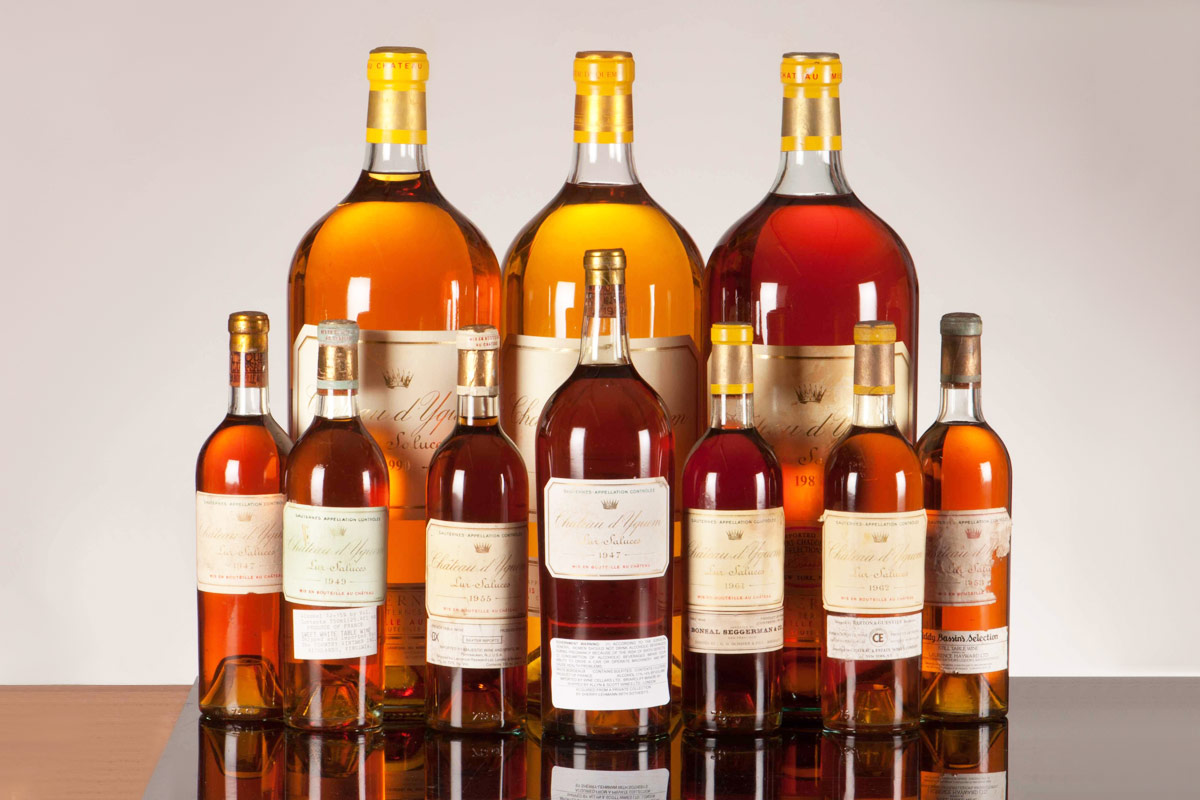 Chateau d'Yquem Vertical Collection