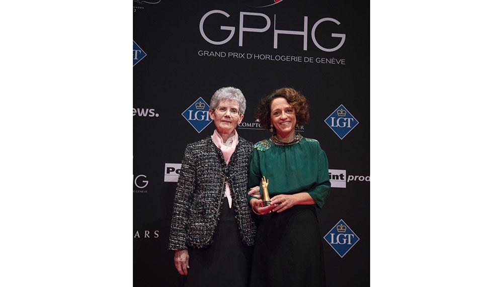 Suzanne Rohr and Anita Porchet, watch enamel