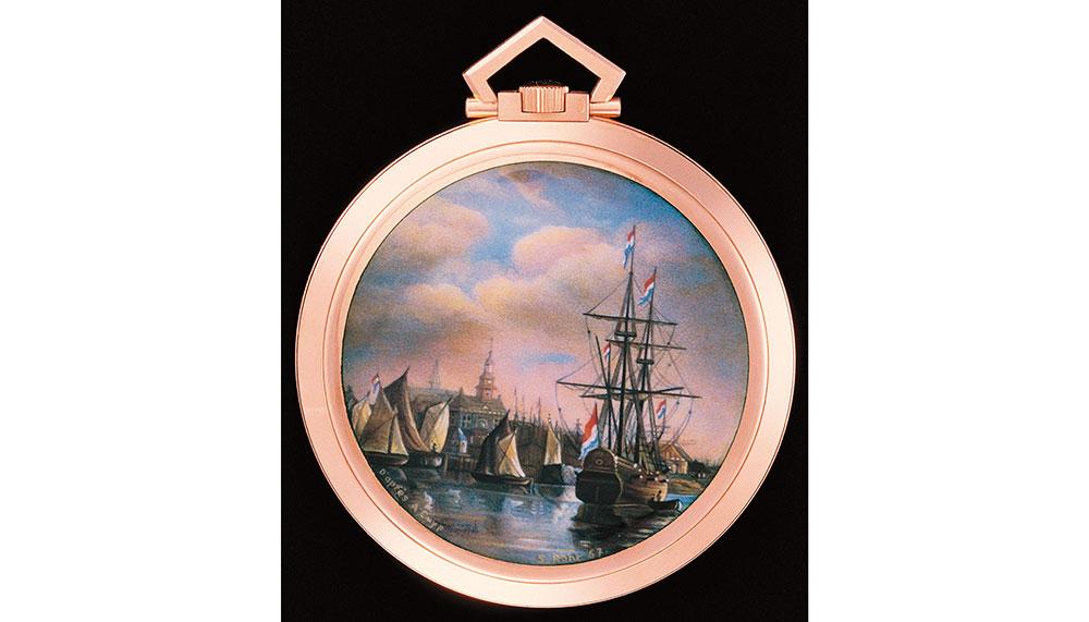 The Harbour of Dordrecht after Albert CUYP (1620-1691)