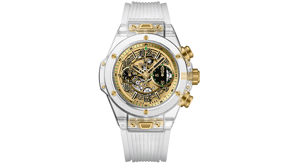 Hublot Big Bang Unico Sapphire Usain Bolt for Only Watch Sold: SFr150,000 (S$205,000)