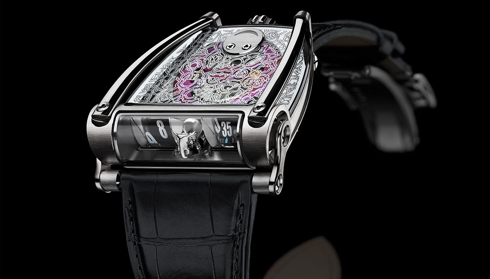 MB&F HM8 Only Watch Sold: SFr210,000 (S$287,000)
