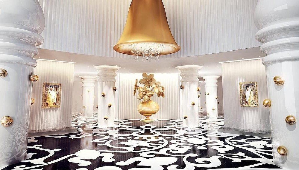 The Mondrian Doha, designed by Marcel Wanders and South West Architects