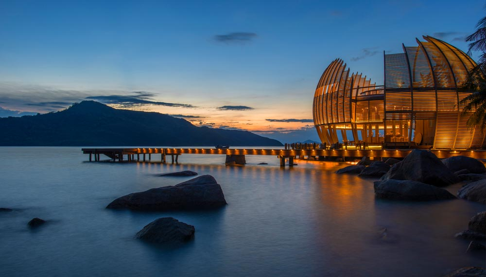 Luxury resorts and villas near Singapore - Ka Lam Retreat Ninh Van Bay