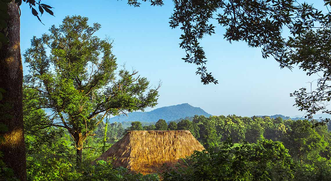 Gal Oya National Park, Gal Oya lodge, Sri Lanka