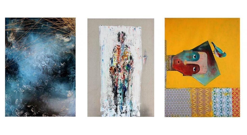 Bahrain artists, Art Bahrain Across Borders exhibition in Singapore, Bahrain Art