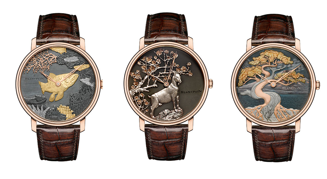 Blancpain Metiers d'Art collection