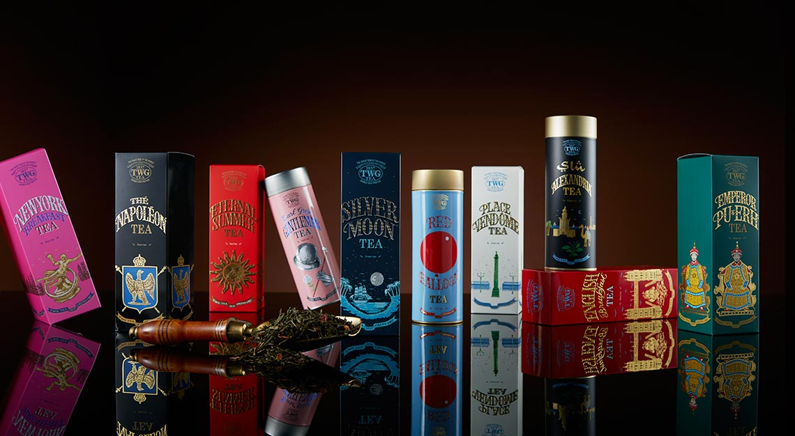 TWG Tea's Haute Couture Tea Collection