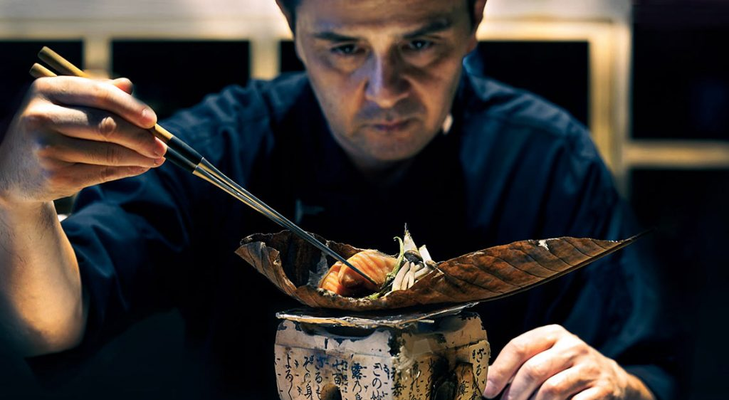 Fat Cow, head chef Shigeru Kasajima