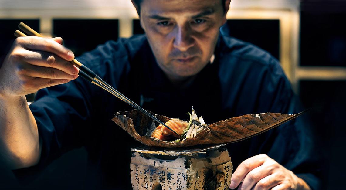Fat Cow, head chef Shigeru Kasajima