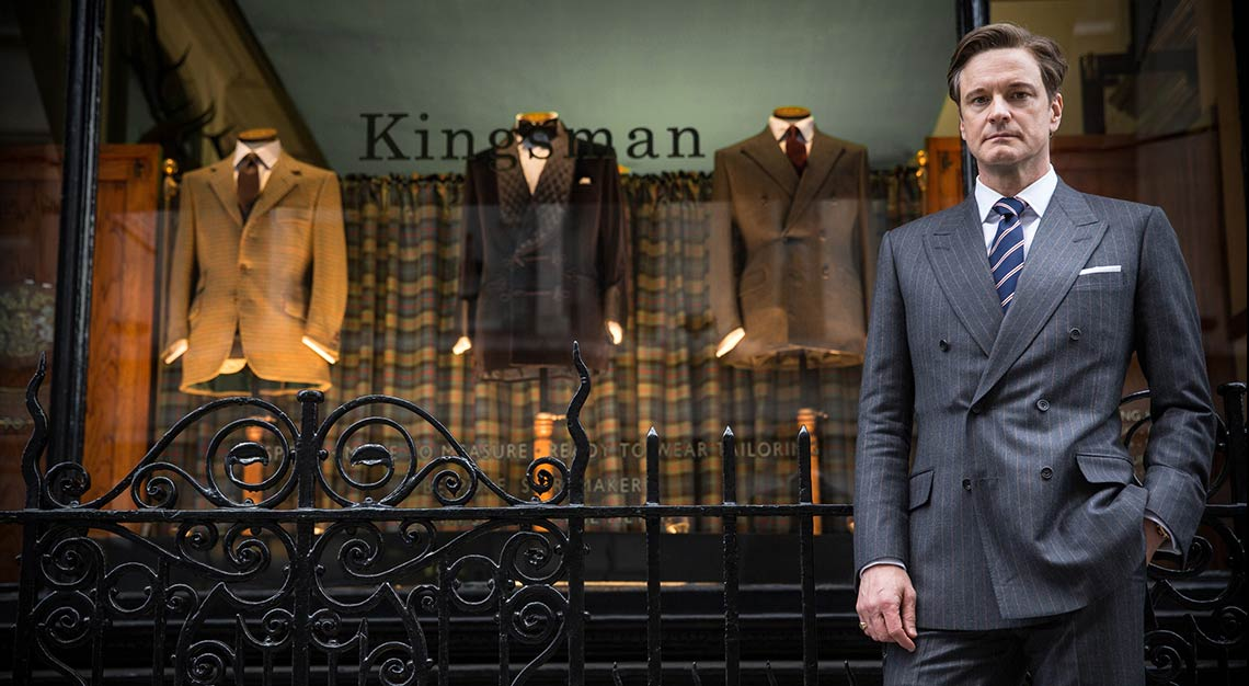 Huntsman, tailor, 11 Savile Row, Kingsman