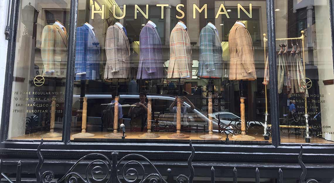 Huntsman, tailor, 11 Savile Row
